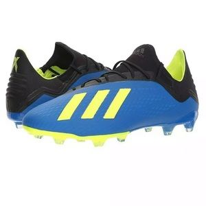 New Adidas X 18.2 FG Men's Soccer Cleats Size 11.5